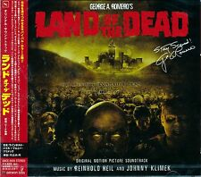 """George A. Romero's """"LAND OF THE DEAD"""" soundtrack Japan CD SEALED"""