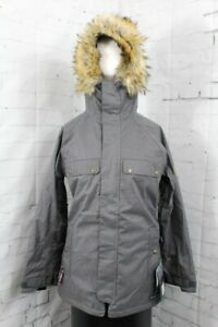 686 Dream Insulated Snowboard Jacket, Women's Medium, Grey Melange New 2020