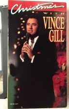 Christmas with VINCE GILL (VHS Tape on DVD) AMY GRANT, MICHAEL McD, CHET  A..