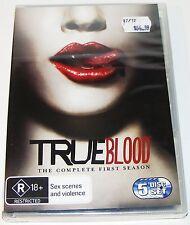 TRUE BLOOD--Complete Season 1---(New & Sealed Dvd 5 Disc Set)