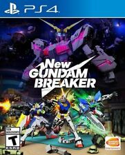 New Gundam Breaker [Sony PlayStation 4 PS4 Mech Combat Hack n Slash Action] NEW