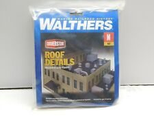 N Scale - Walthers Cornerstone Roof Details Kit NIB 933-3826