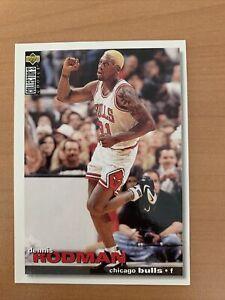 Carte NBA Dennis Rodman Chicago Bulls Upper Deck Collector Choice 1996