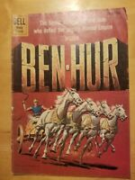 FOUR COLOR #1052 BEN HUR ( DELL ) SILVER AGE 1959