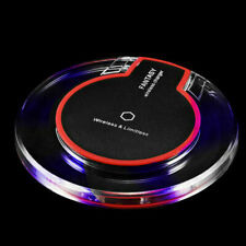 Universal Qi Wireless Charger Fast Charging Pad For Samsung S8 9 10 Note 5 8 9