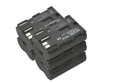 New 5 Piece BP-512 BP-511 Battery for BP-514 5D 10D 20D 50D 300D D30 BP-511A G3