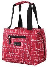 Nicole Miller  New York Insulated Lunch Tote  Cooler Signature Red 11 Lunch