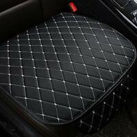 Car Seat Cover Front Cushion PU Black+White Line Universal Car Chair Accessories