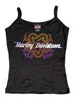 Ladies Girls  Jewellery Stretchy Strap Vest Tank Top TShirt 73