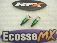 RFX Trick Fork Bleeders GREEN CRF CR YZF YZ RM KXF