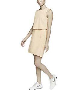 Nike Golf Flex Ace Tennis Dress White CI9806-885 Women's Sz.Medium New $120