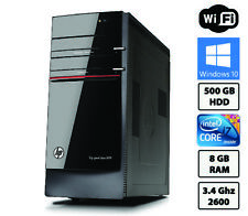 HP Pavilion HPE H8  Intel Core i7-2600 @ 3.4GHz Quad core 8GB  500GB  Win 10