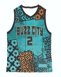 LaMelo Ball ROY NBA Charlotte Hornets Custom Design Swingman Basketball Jersey