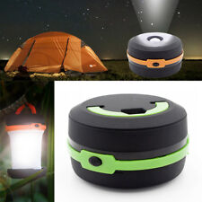 Portable LED Camping Light Emergency Hiking Tent Lantern Night Lamp Flashlight