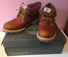 Timberland 9641B Mens Roll Top Brown Brown Boots Size 9 UK - Brand New in Box