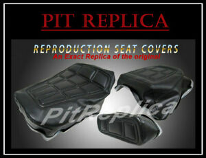 HONDA GL500 I '81-'82 *HEAT EMBOSSED* RIDER PILLION REST SEAT COVER *HSOS-A/S/O