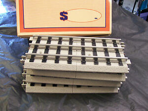 Lionel Corporation MTH  Seven Inch Straight Sections Roadbed Realtrax ( 4-Pack )