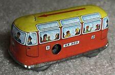 Vintage West German Wind Up Street Car Toy