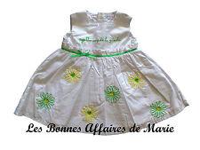 AGATHA RUIZ DE LA PRADA - PROMO -70% - Robe sans manches fantaisie blanc et vert