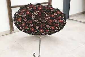 Edler Regenschirm Flanierschirm alt antik Vintage  Damenschirm