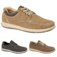 MENS COMFORT FASHION WORK  LACE UP DECK BOAT CASUAL SHOES UK SIZE 7 8 9 10 11