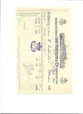 Rechnung / Margarine - Fabrik van Rossum & Co Emmerich a/Rh. 1911