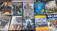 PC Game Lot of 12 - Computer Games - Batman - transformers - Alcatraz - Bioshock