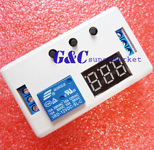 12V LED Automation Delay Timer Control Switch Relay Module + case M108