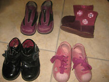 Lot de 4 paires : chaussures, bottine, pointure 20-21  en bon état