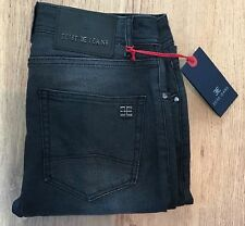 Men's designer denim EEISE Jeans EJ15 slim fit black Length 34