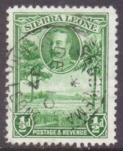 """SIERRA LEONE  POSTMARK / CANCEL   """"SEGBWEMA""""   1937"""