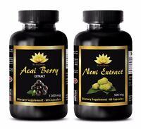 Immune support capsules - NONI – ACAI BERRY COMBO - noni fruit powder