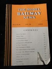 Model Railway News 1940 June Special water wagon Trix innovation 3.5mm Midland C