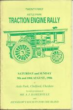 1986 ASTLE PARK TRACTION ENGINE RALLY