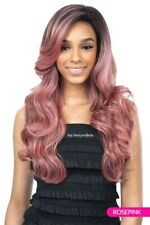 Freetress Equal Synthetic Premium Delux Lace Front Long Curly Hair Wig - CORIN