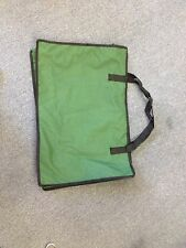 2 x 60CM LARGE Durable Canvas Beach Travel Overnight Carry Bag on Blackish Green