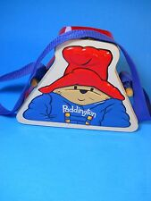 Paddington Bear Tin Lunch Box Purse Handbag blue strap 1995 Metal Arts Amsterdam