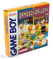 Nintendo GameBoy Spiel - GB Gallery 5 Games in 1 mit OVP NEUWERTIG