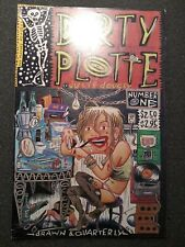 DIRTY PLOTTE NUMBER ONE, 1991 JULIE DOUCET/ DRAWN & QUARTERLY $2.50 SECOND PRINT