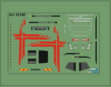 H0/1:87 DIS0314R Decals• für Volvo FH4 /Performence Edition/rot