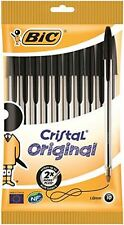 BIC Cristal Original 1.0 mm Ball Pen - Black, Pack of 10