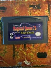 Magical Quest 3 Nintendo Gameboy ADVANCE GBA Tested AUTHENTIC
