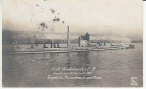 S.M. Unterseeboot 9 - U - boot