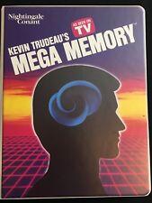 """""""Mega Memory""""  Kevin Trudeau Inspirational 8 Cassettes, Workbook & Pocket Guide"""