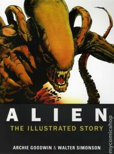 Alien The Illustrated Story GN #1-1ST VF 2012 Stock Image
