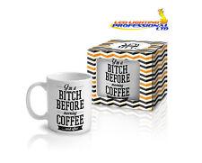 "Coffee Tea Mug ""I'M A BITCH"" Funny Design Novelty Christmas Gift - 300ml"