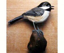 Polyresin decorative bird   Table Piece - Chickadee   - FWC120