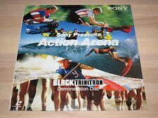 Sony Ld Laserdisc - Action Arena / Trinitron Demo Disc en Scellé Nouveau Ovp