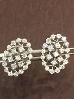 0.68 Cts Round Brilliant Cut Natural Diamonds Stud Earrings In Fine 14Carat Gold
