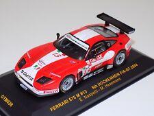 1/43 IXO Ferrari 575 M car #13 5th at FIA GT 2004 Hockenhein  GTM028